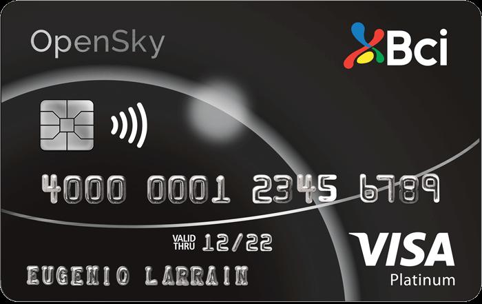 tarjeta Bci Visa Platinium Opensky